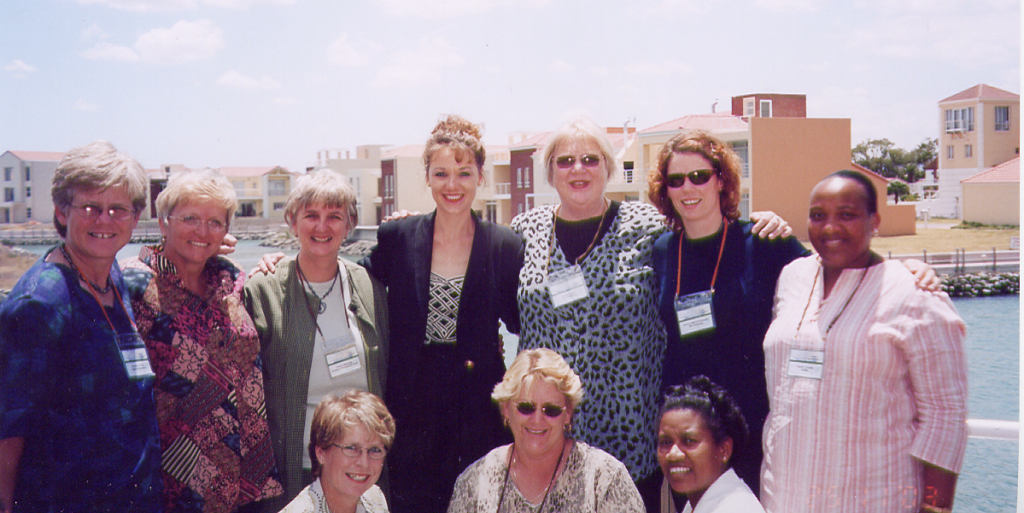 SAOSWF members at first combined conference with the oncology nurses association (NONSA) in Gordon's Bay, 2003